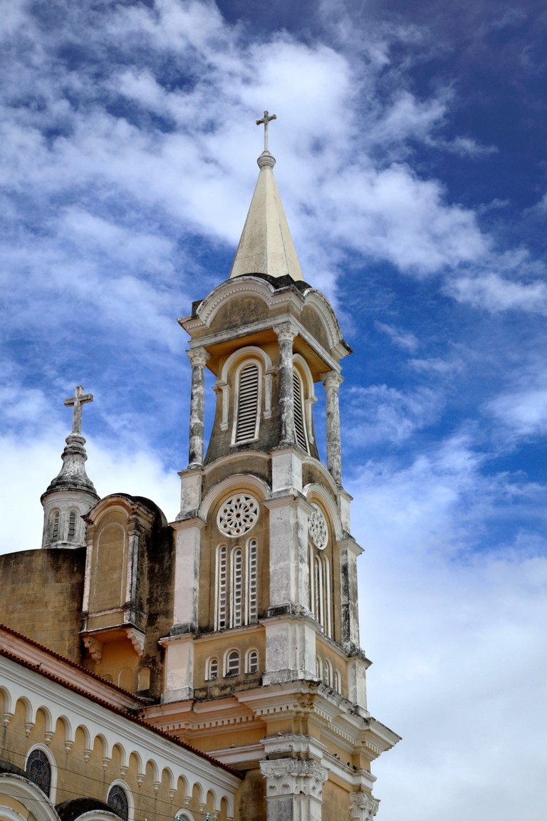 St. Sebastian Cathedral, Sao Sebastiao, Ilheus, Bahia, Brazil, South America