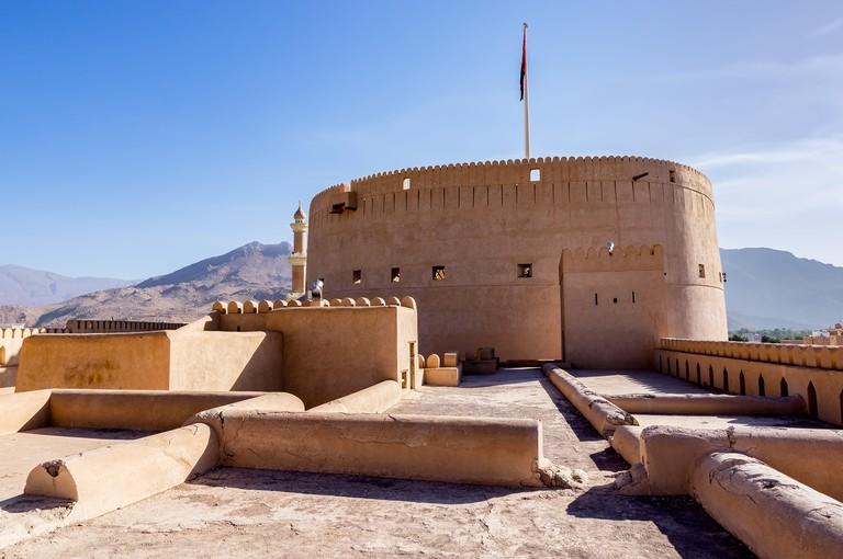 Nizwa Fort in Nizwa, Oman