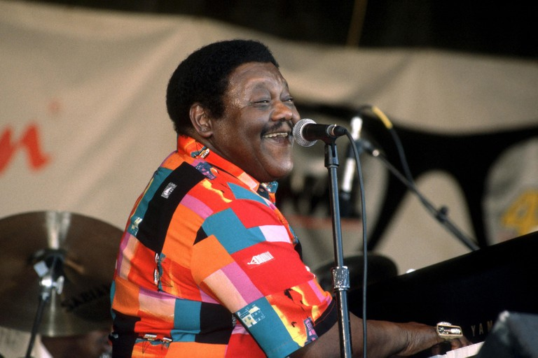 FATS DOMINO NEW ORLEANS JAZZ FESTIVAL 3 MAY 1997 CREDIT ALL USES © David Atlas/ MediaPunch