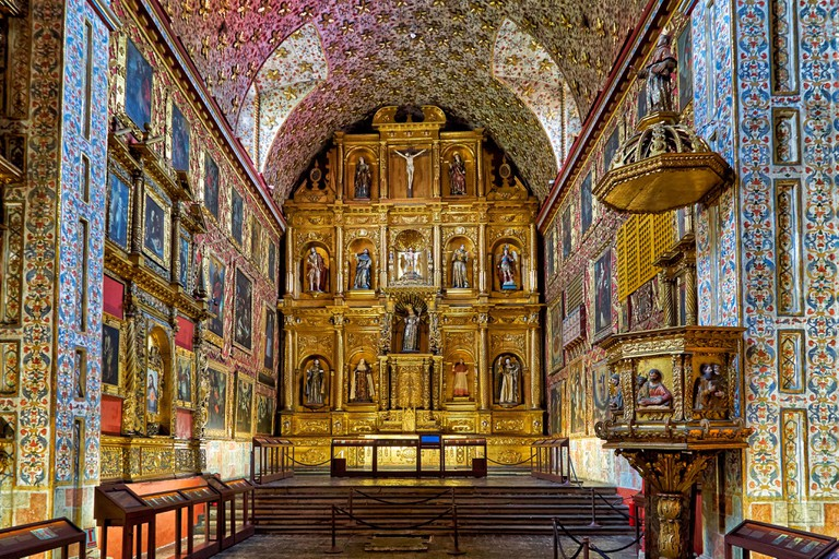 Museo Santa Clara, decorated church and convent, , Bogota, Colombia, South America