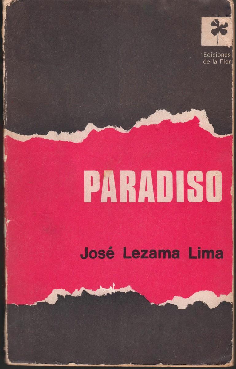 Portada de Paradiso - Jose Lezama Lima - Ediciones de la Flor - 1968