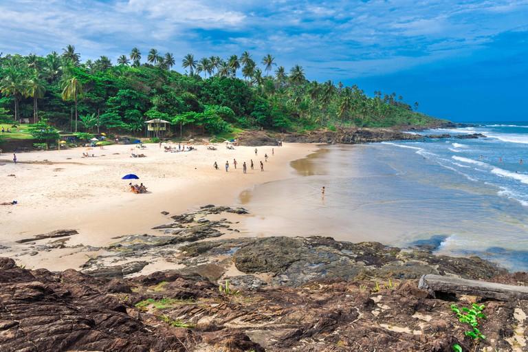 Tiririca beach in Itacare Bahia Brazil. Image shot 08/2017. Exact date unknown.
