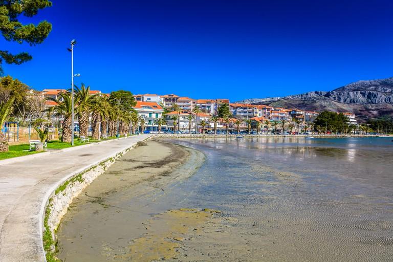 Stobrec city, suburb of Split