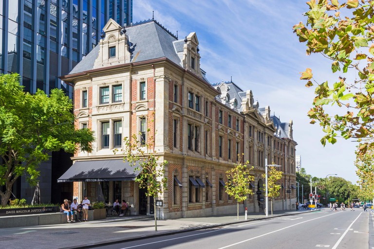 The State Buildings along Barrack Street, Perth, Western Australia, Australia