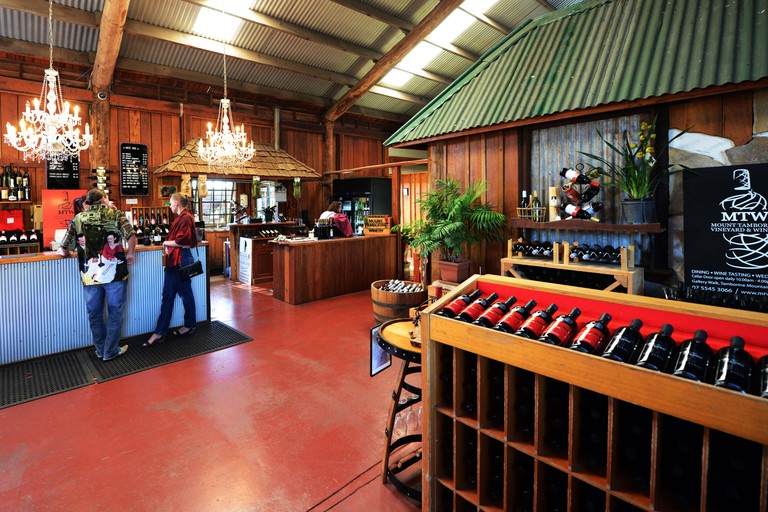 The Mount Tamborine winery