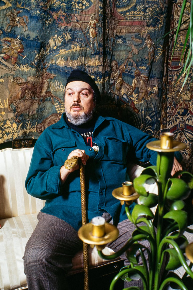 Dr John, portrait at his house in New York City, April 1994. Image shot 04/1994. Exact date unknown.