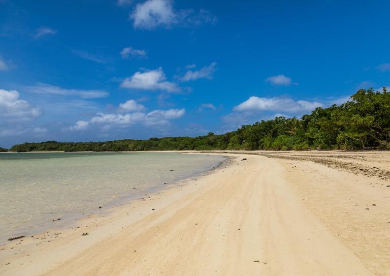 Kabira bay inner beach, Yaeyama Islands, Ishigaki-jima, Japan