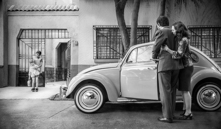 Roma is a 2018 drama film written and directed by Alfonso Cuaron. Cuaron also co-produced, co-edited and photographed the film. This photograph is for editorial use only and is the copyright of the film company and/or the photographer assigned by the fi