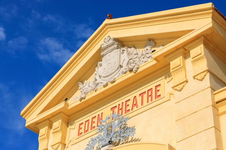 France, Bouches du Rhone, La Ciotat, boulevard Clemenceau, Cinema Eden Theater