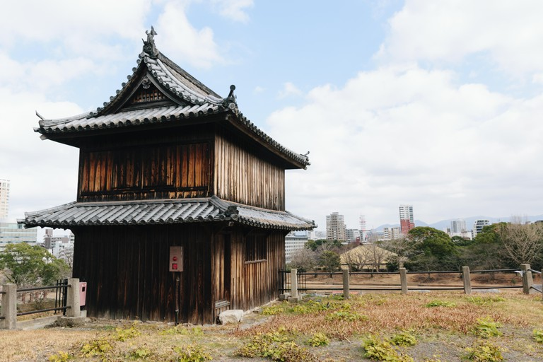 A guard post of Fukuoka Castle