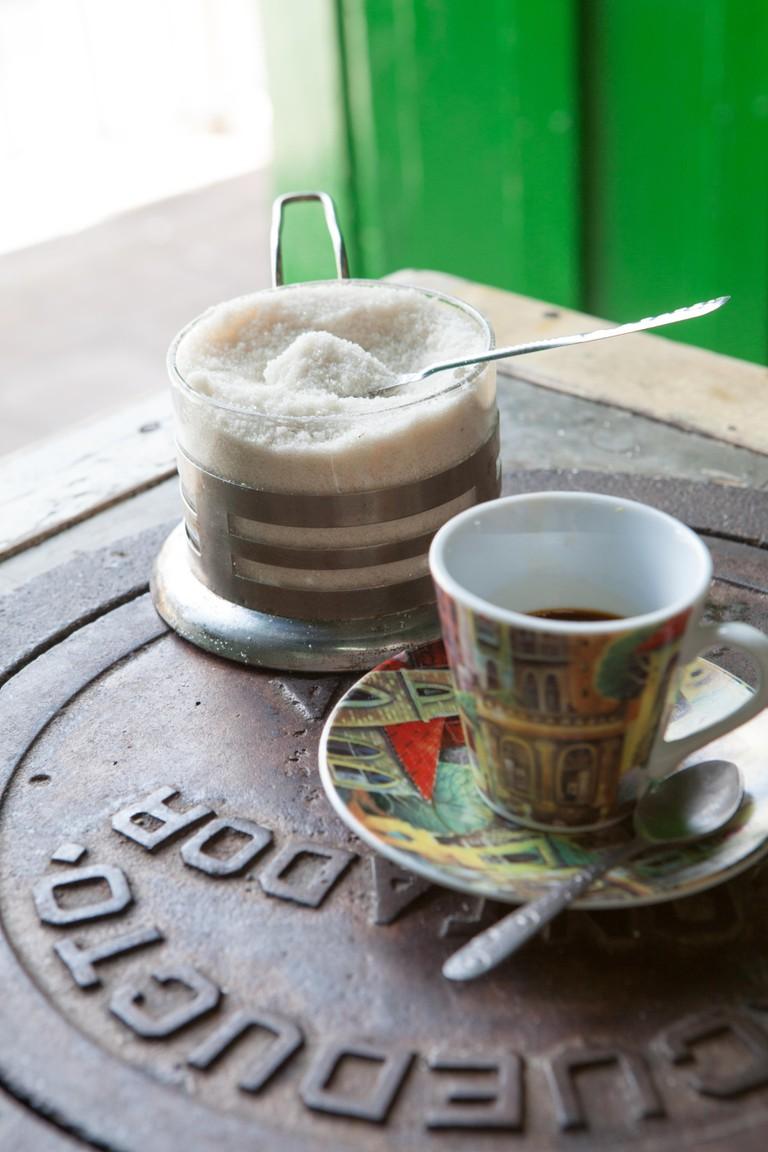 Cuban Coffee Cafe Cubano