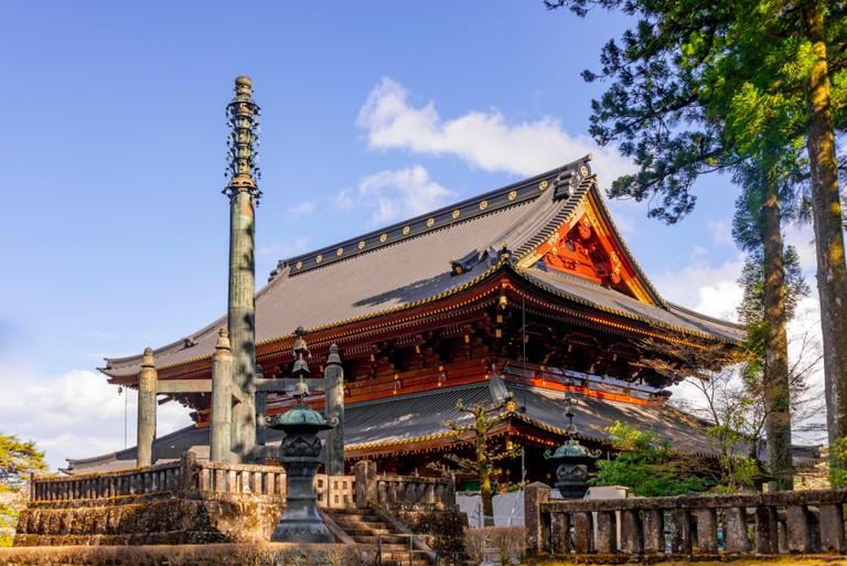 Nikkozan Rinnoji Temple, Buddhist Temple, Nikko, Japan.