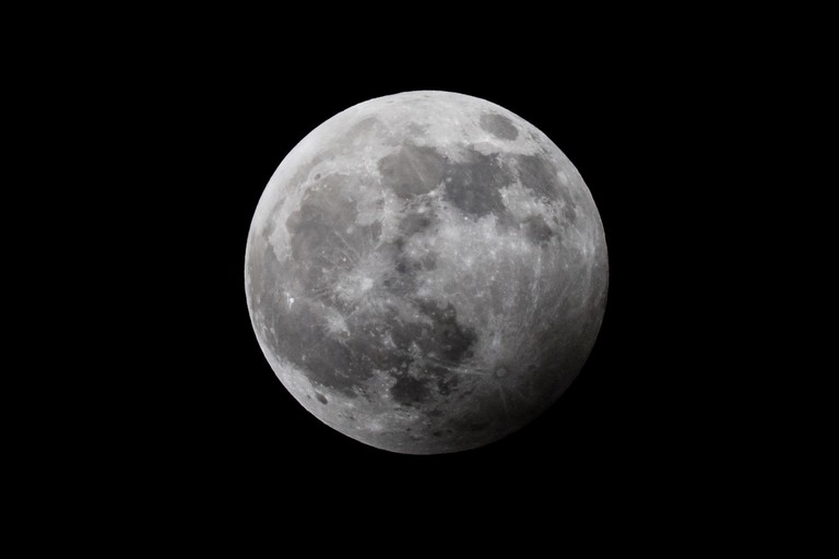January 2020 penumbral eclipse of the Moon as seen from Suffolk, UK