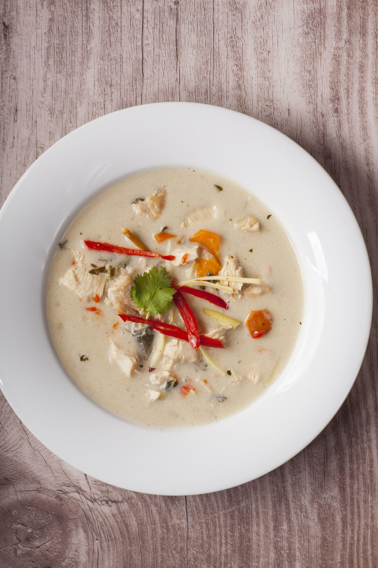 Tom Kha Gai Suppe. Image shot 09/2014. Exact date unknown.