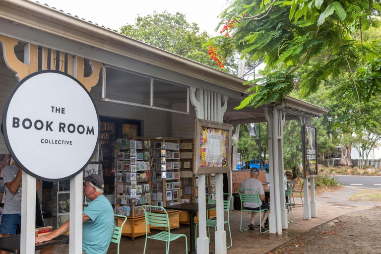 Book room collective, traditional bookshop in Byron bay,NSW,Australia