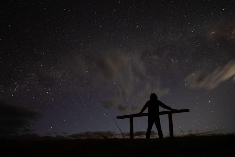 stargazing in tekapo, new zealand