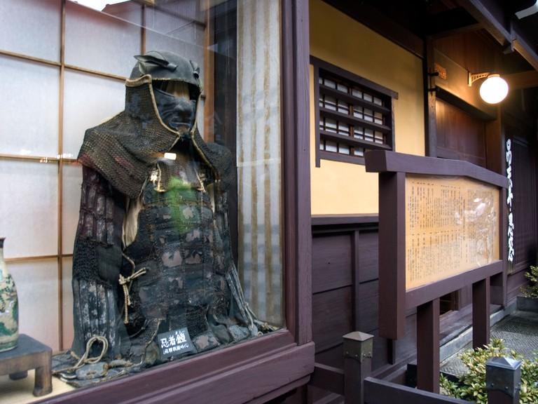 Ninja museum San-machi Suji. Takayama's old town. Gifu Prefecture. Japan