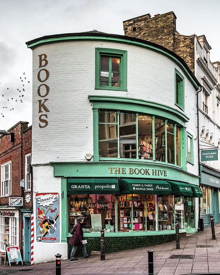 Exterior of The Book Hive