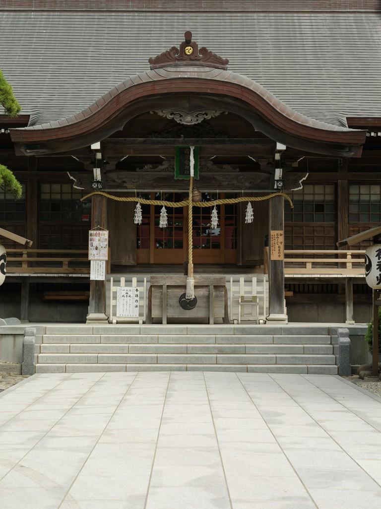 Yunokura Shrine, Yunokawa onsen, Hakodate, Hokkaido