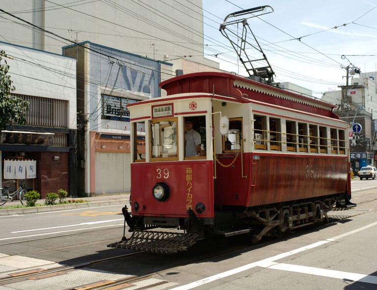 Hakodate Street Tram, Hokkaido, Japan