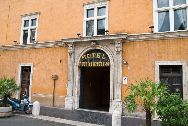 Hotel Columbus, near the Vatican