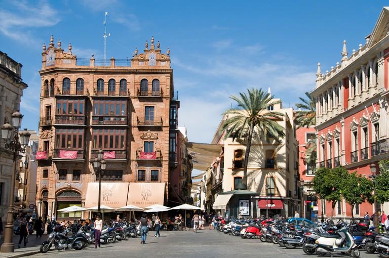 Dona Maria Coronel, old city center, Seville