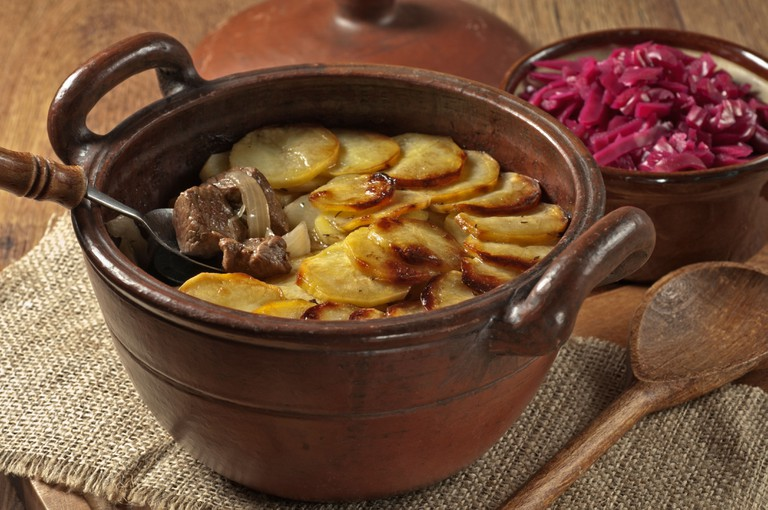 Lancashire hotpot Traditional food UK