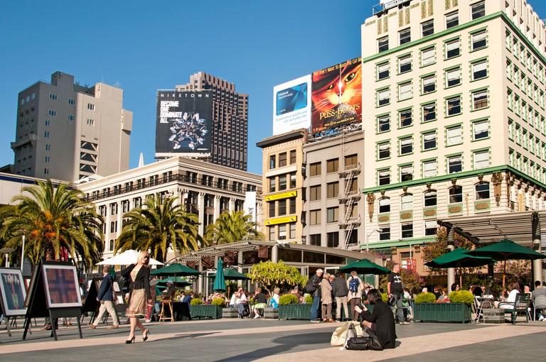 Union Square San Francisco California Sear USA