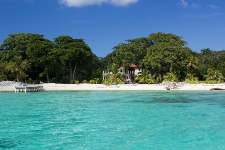 Utila Honduras Beach