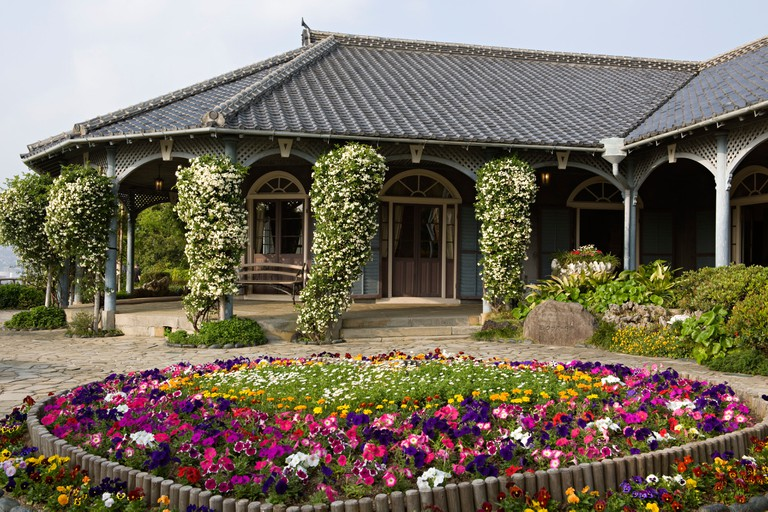 Glover Garden, the house of Miss Butterfly, Nagasaki.
