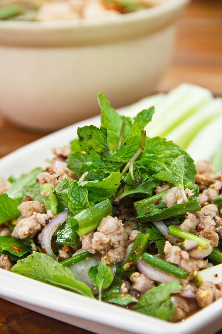 This food is popular in the north-east of the country Isaan