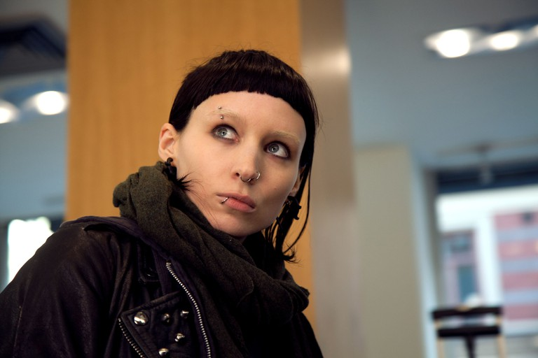 ROONEY MARA THE GIRL WITH THE DRAGON TATTOO (2011)
