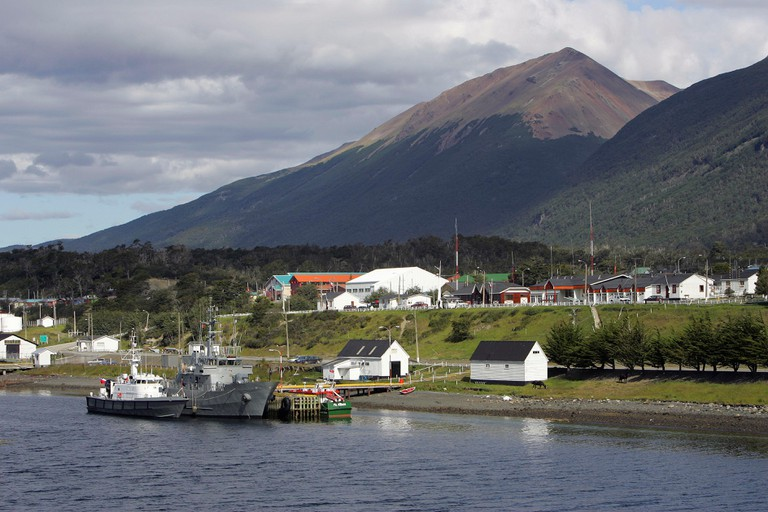 Puerto Williams on the Beagle Channel