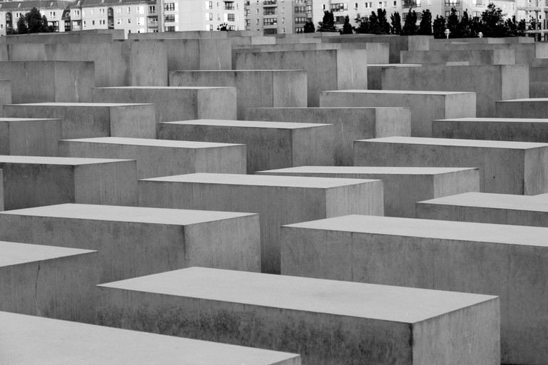 Jewish Holocaust Memorial, Berlin, Germany