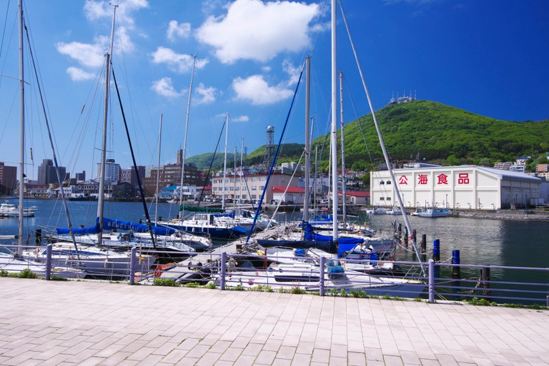 Green Island, Hakodate, Japan.