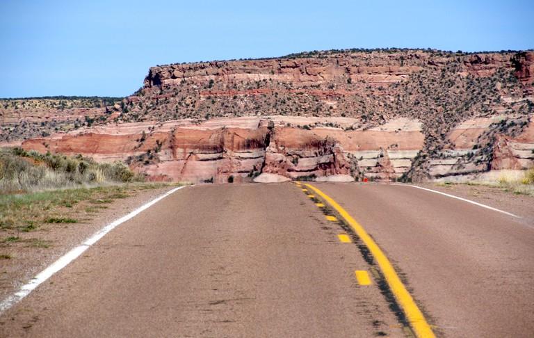 old route 66 near flagstaff Arizona