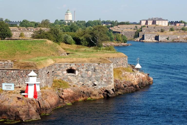 Fortress of Suomenlinna Island near Helsinki, Finland