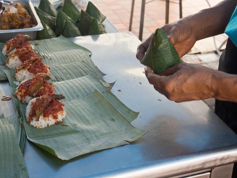 Traditional nasi lemak makers in Penang