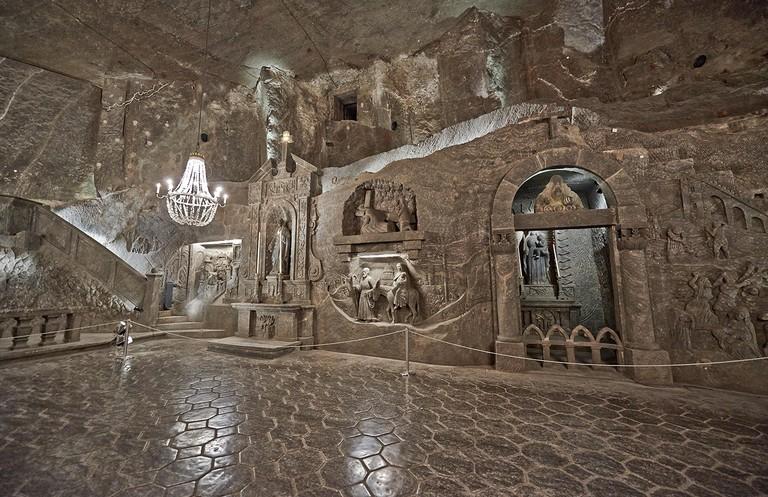 The Chapel of St. Kinga in Wieliczka Salt Mine, Cracow Wieliczka, Poland