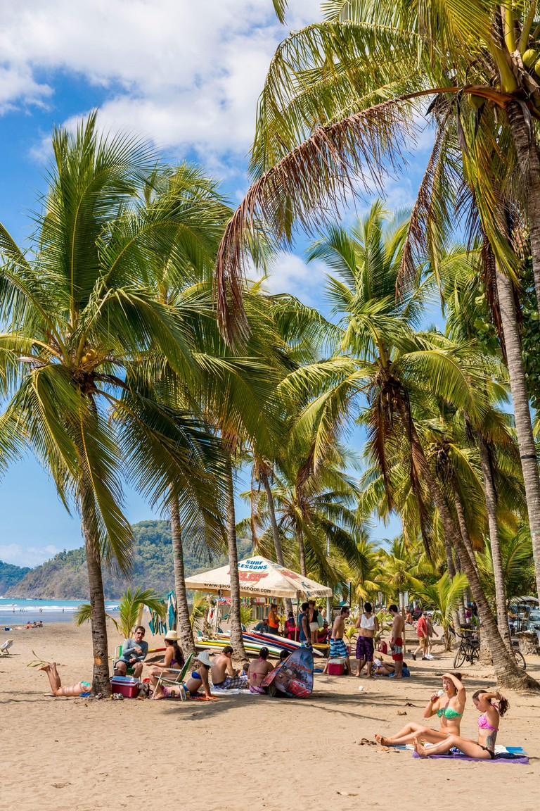 Costa Rica, Puntarenas province, the Pacific coast resort of Jaco