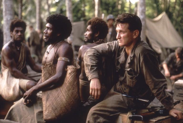 Sean Penn / The Thin Red Line / 1998 directed by Terrence Malick  [Twentieth Century Fox Film Corpo]