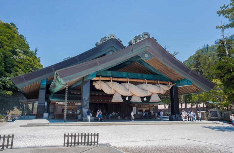 Japan, Shimane Province, Izumo City, Izumo Taisha Shrine