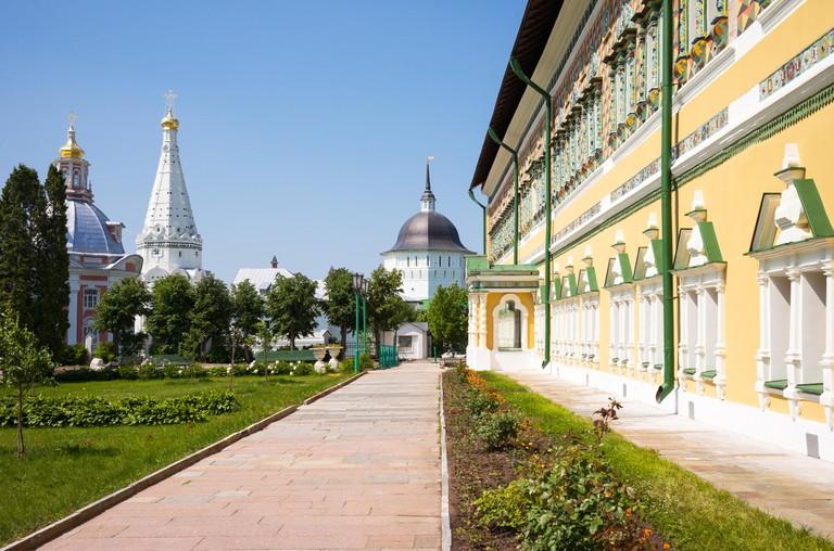 The Trinity Monastery of St. Sergius, Sergiyev Posad.