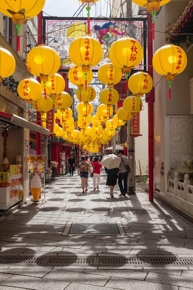 Nagasaki Chinatown, Japan