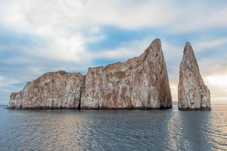Kicker Rock or Roca Leon Dormido, San Cristobal Island, Galapagos, Ecuador, Unesco World Heritage Site
