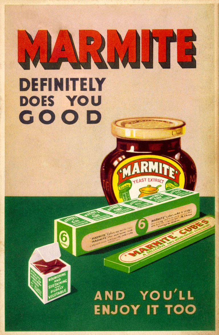 Marmite spreads and cubes - definitely does you good, and you'll enjoy it too       Date: 1930s
