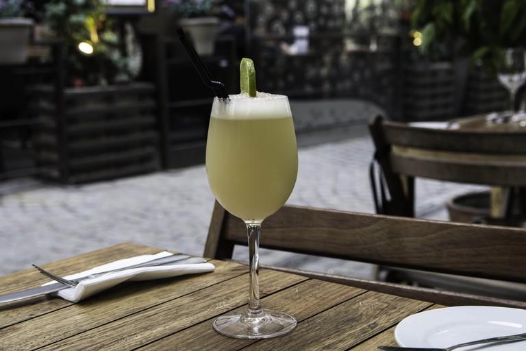 Chilean Pisco Sour cocktail, Santiago