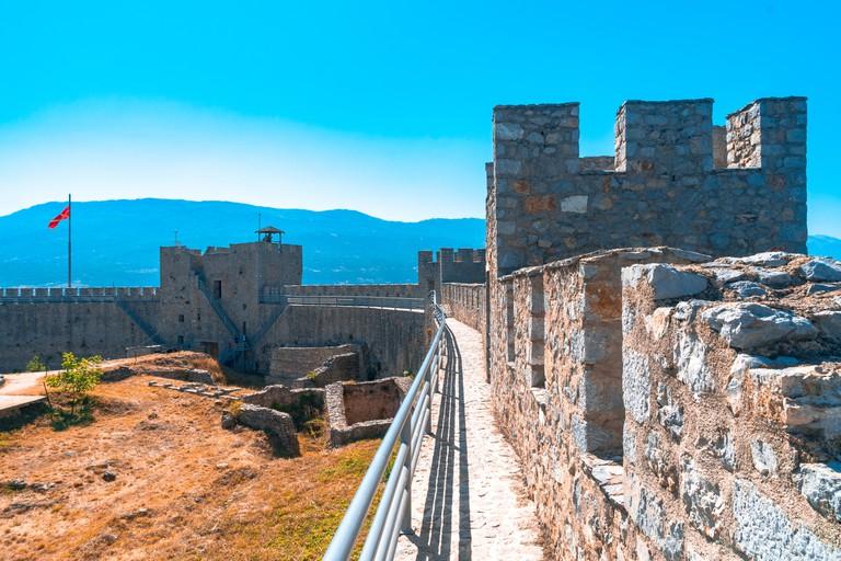 Samuels Fortress in Ohrid