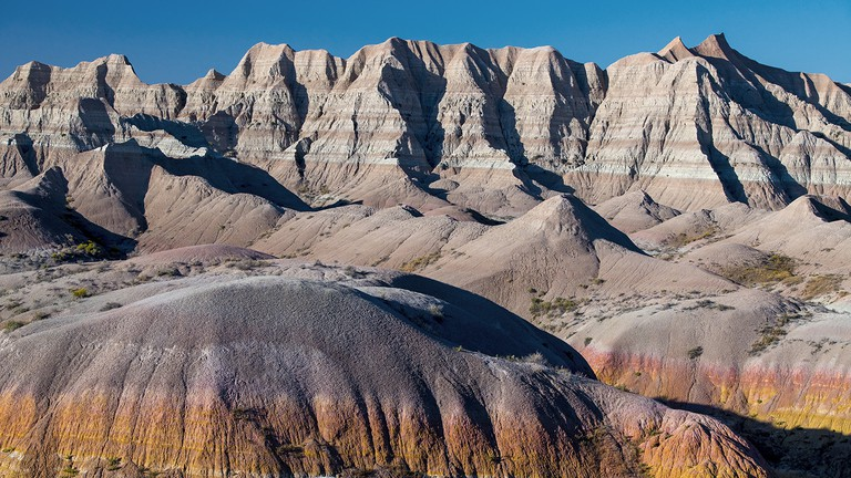 Badlands National Park. South Dakota