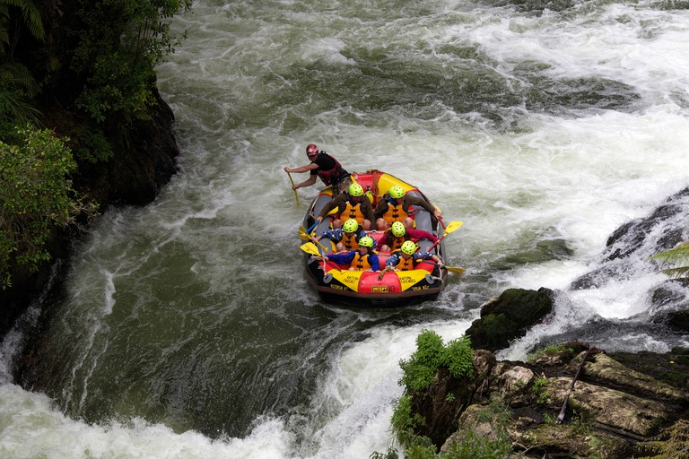 Whitewater rafting with Kaituna Cascades